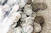 アメリカ5¢コイン インディアン&バッファロー コンチョボタンを作ります ①