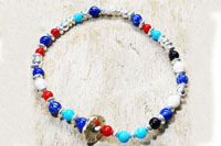メンズ・レディースのブレスレット通販サイト Akashic Tree   Natural stone Mix Bracelet
