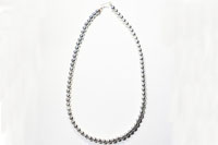 Sterling silver round beads Necklace(シルバー925 ラウンドビーズネックレス)50cm