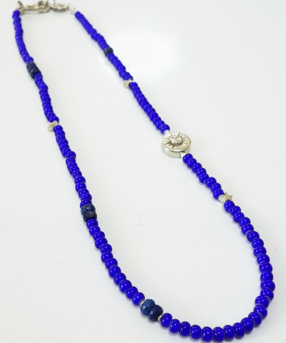 WHITE HEART BEADS NECKLACE(ホワイトハートビーズネックレス)4