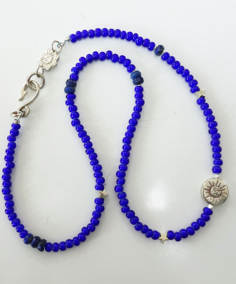 WHITE HEART BEADS NECKLACE(ホワイトハートビーズネックレス)6