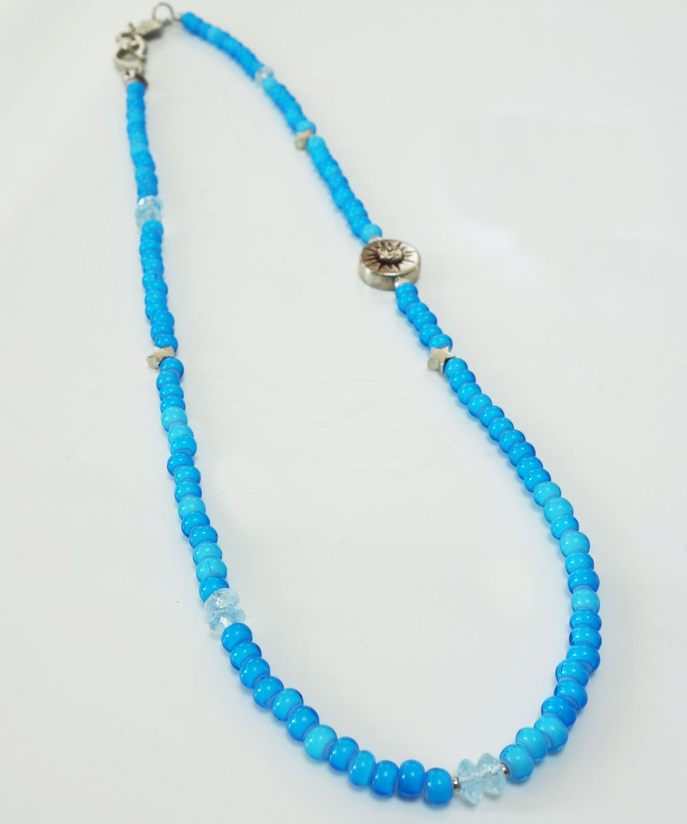 WHITE HEART BEADS NECKLACE(ホワイトハートビーズネックレス) 4