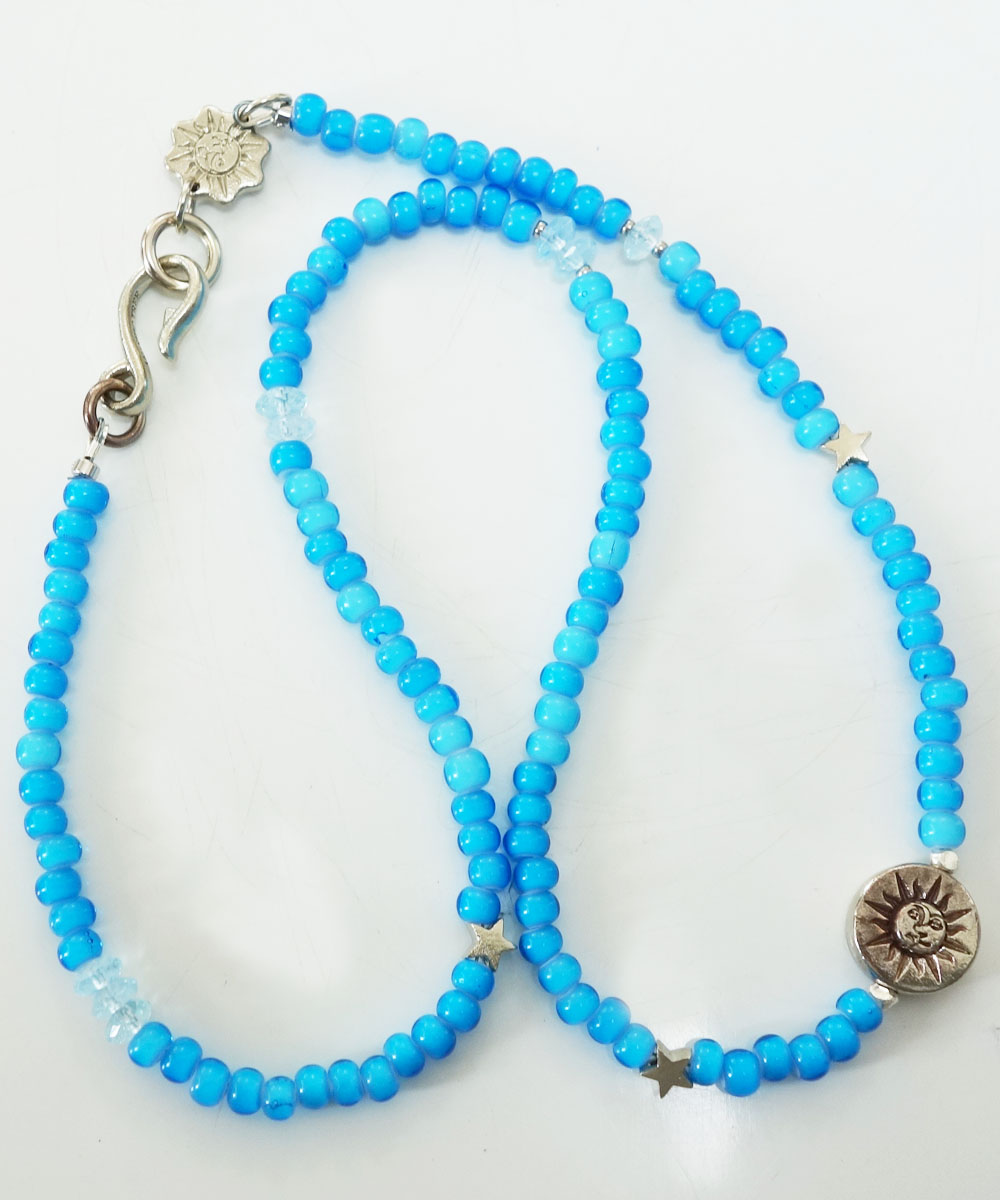 WHITE HEART BEADS NECKLACE(ホワイトハートビーズネックレス) 6
