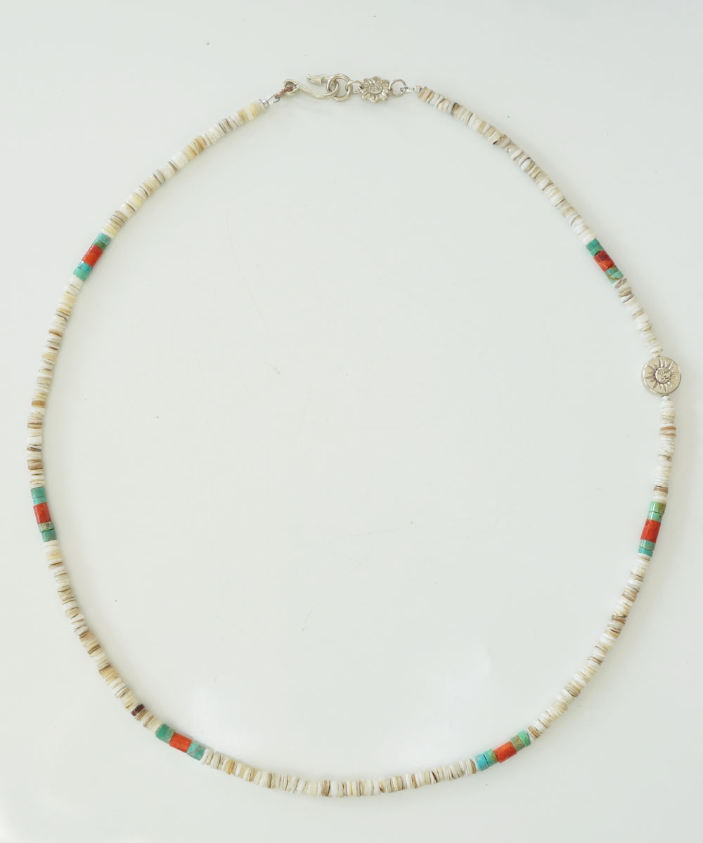 TURQUISE(ターコイズ) & HEISHI  NECKLACE(ヒイシーネックレス)3
