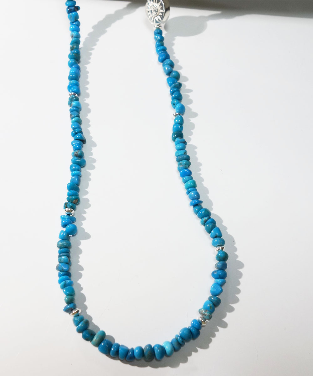 SLEEPING BEAUTY TURQUOISE(スリーピングビューティーターコイズ)&SILVER925  NECKLACE(シルバー925ネックレス)4