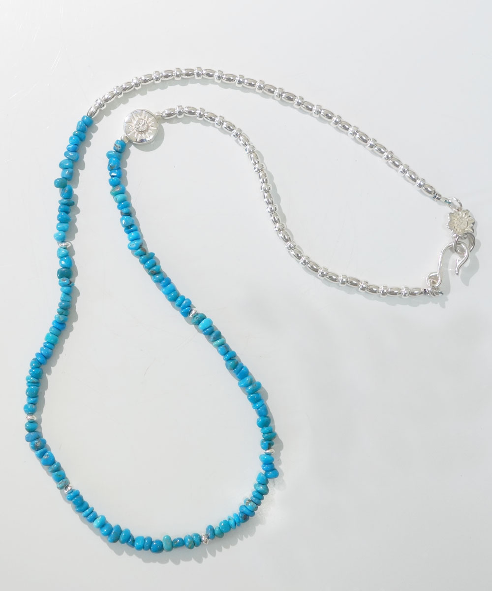 SLEEPING BEAUTY TURQUOISE(スリーピングビューティーターコイズ)&SILVER925  NECKLACE(シルバー925ネックレス)6
