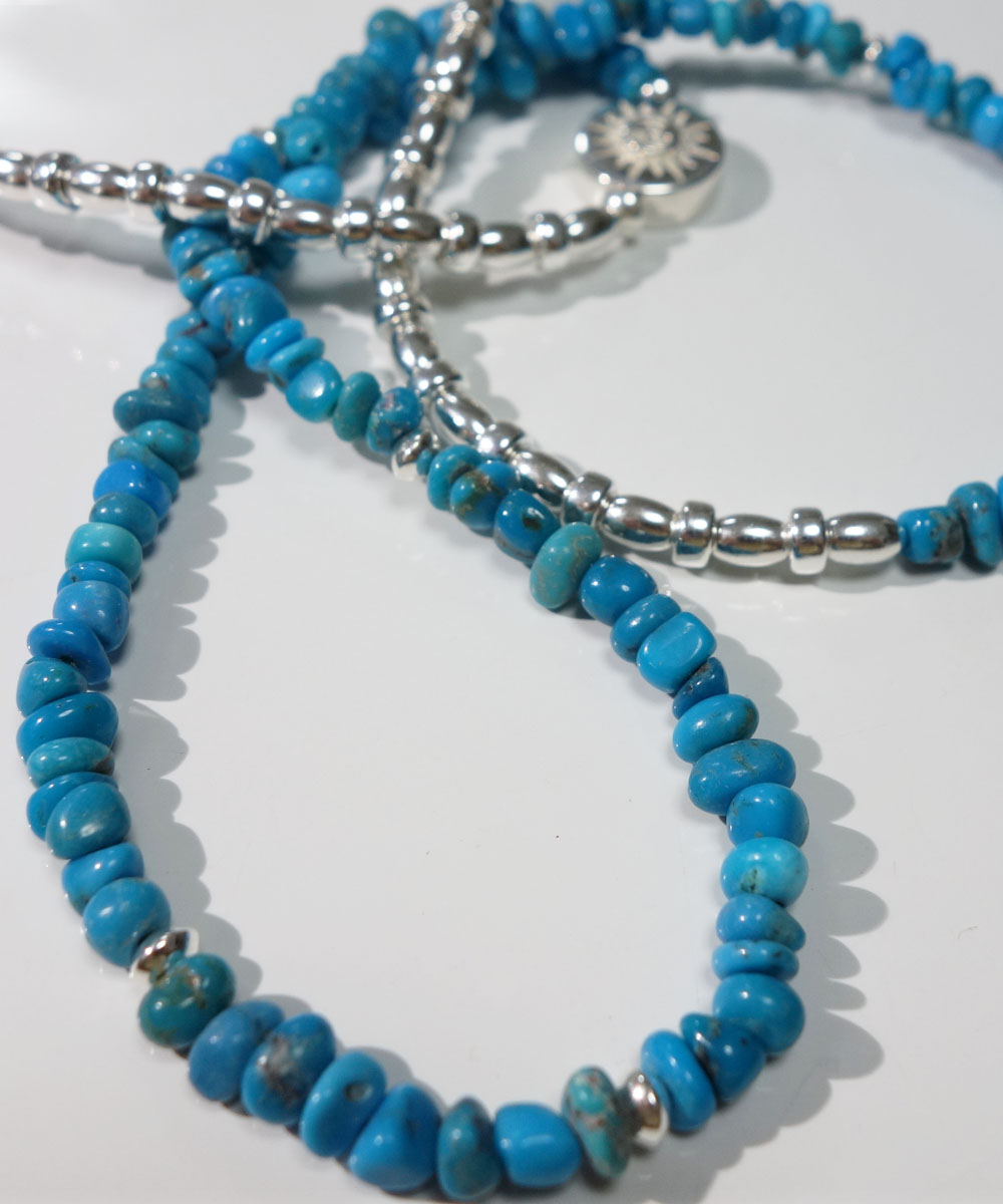 SLEEPING BEAUTY TURQUOISE(スリーピングビューティーターコイズ)&SILVER925  NECKLACE(シルバー925ネックレス)7