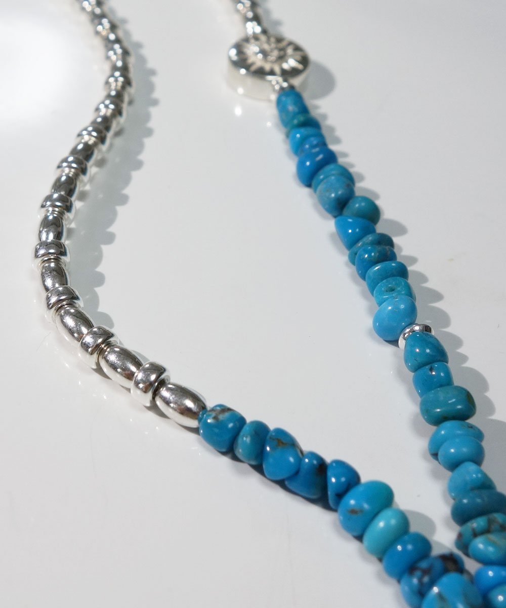 SLEEPING BEAUTY TURQUOISE(スリーピングビューティーターコイズ)&SILVER925  NECKLACE(シルバー925ネックレス)9