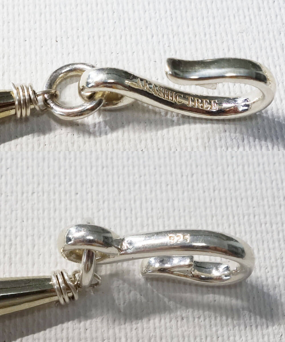 STERLING SILVER TWIST NECKLACE(スターリングシルバーツイストーネックレス)12