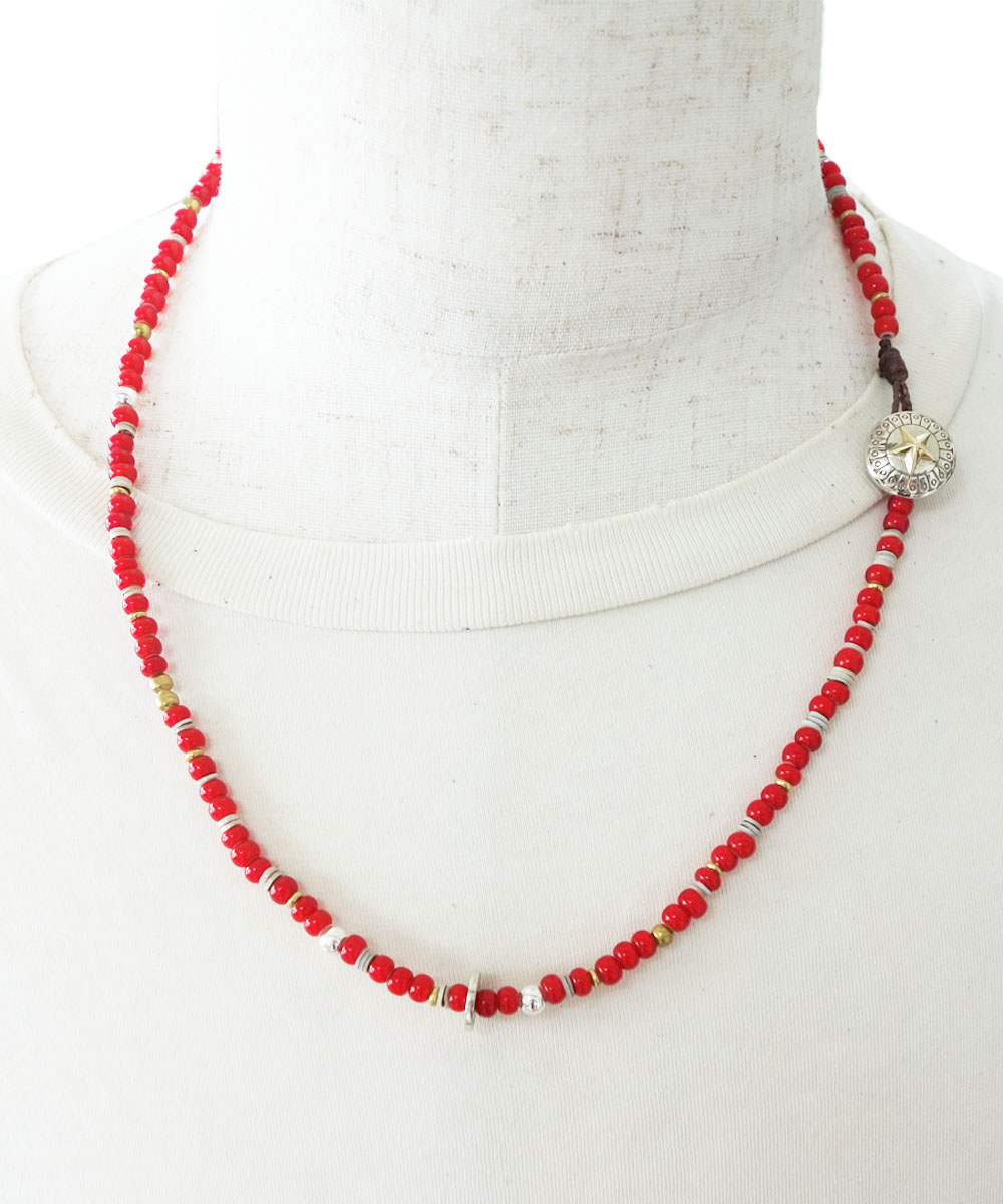 WHITEHEART&SHELL NECKLACE(ホワイトハート&シェル ネックレス)