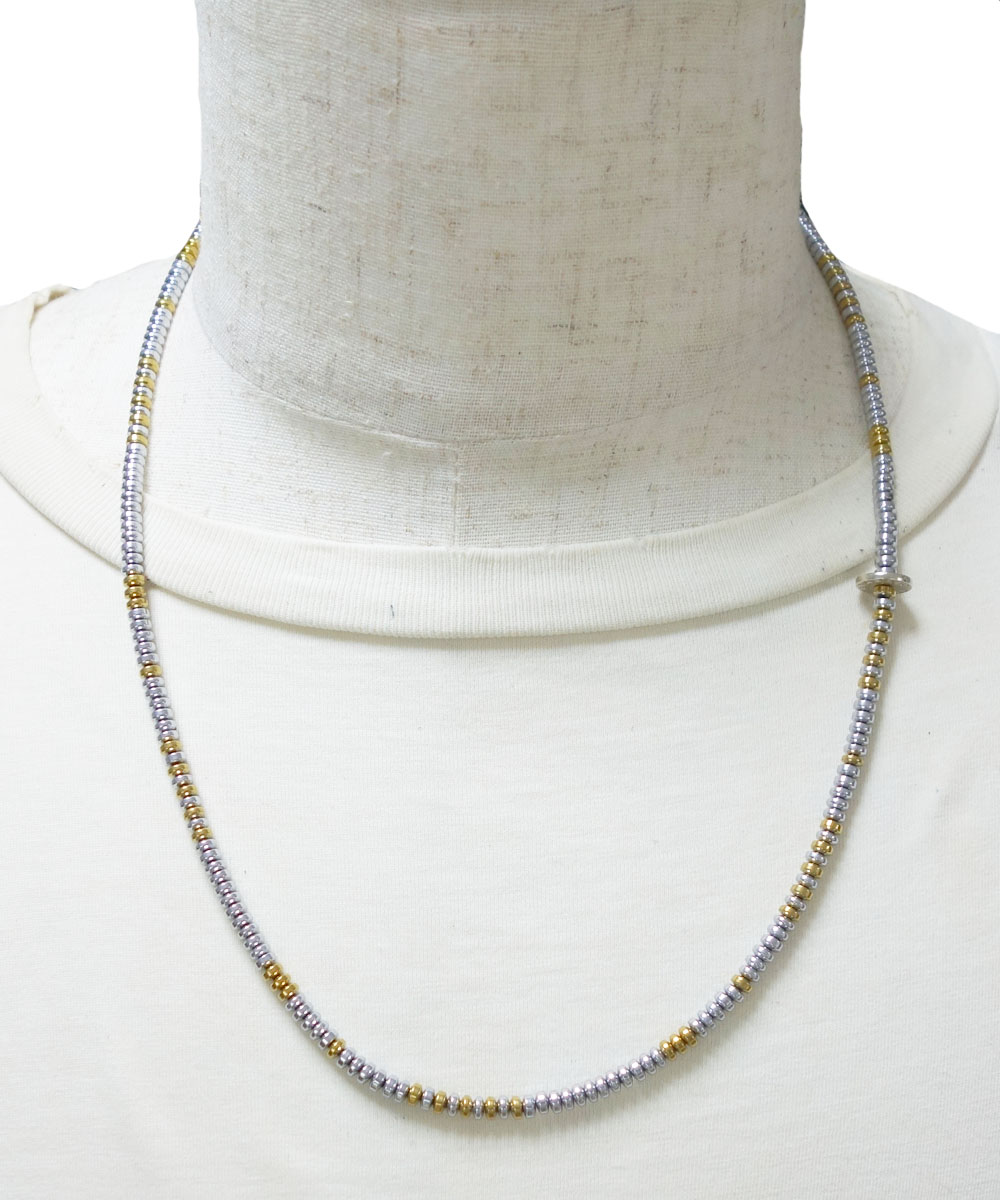 SILVER & GOLD NECKLACE(シルバー&ゴールド ネックレス)