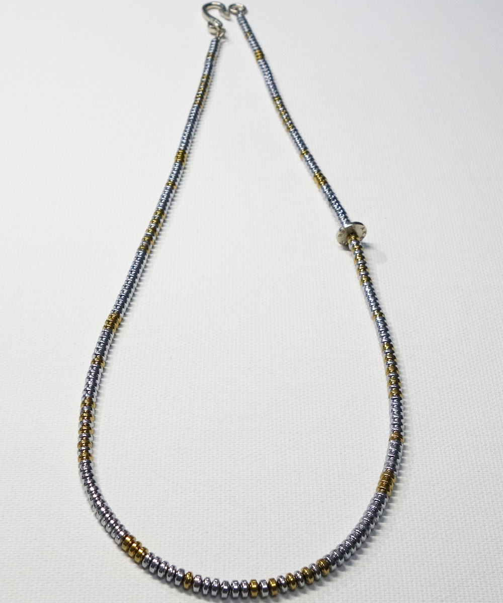 SILVER & GOLD NECKLACE(シルバー&ゴールド ネックレス) 4