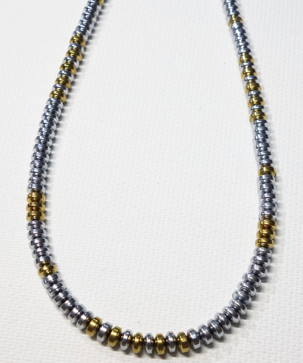 SILVER & GOLD NECKLACE(シルバー&ゴールド ネックレス) 5