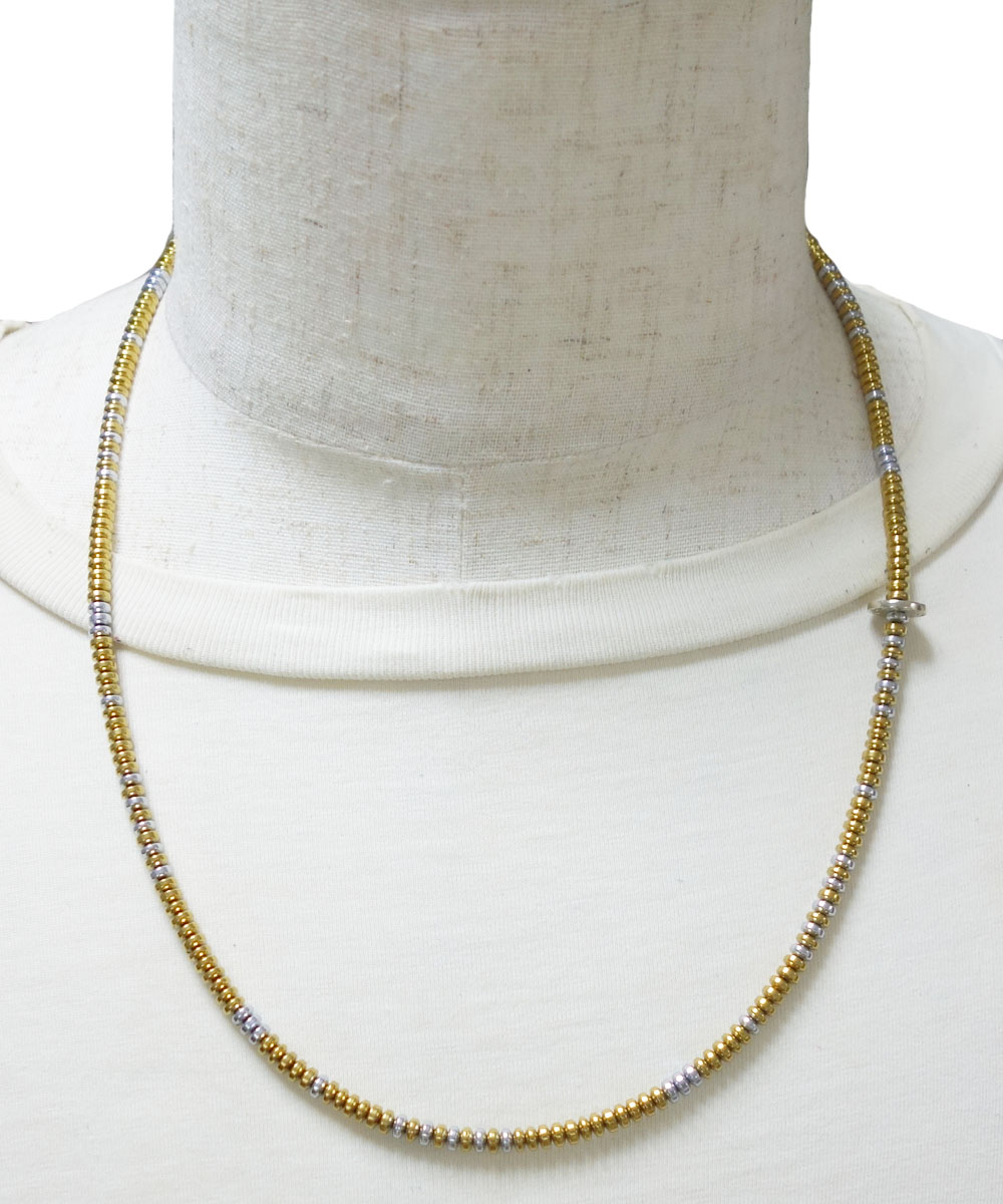 GOLD & SILVER NECKLACE(ゴールド&シルバー ネックレス)