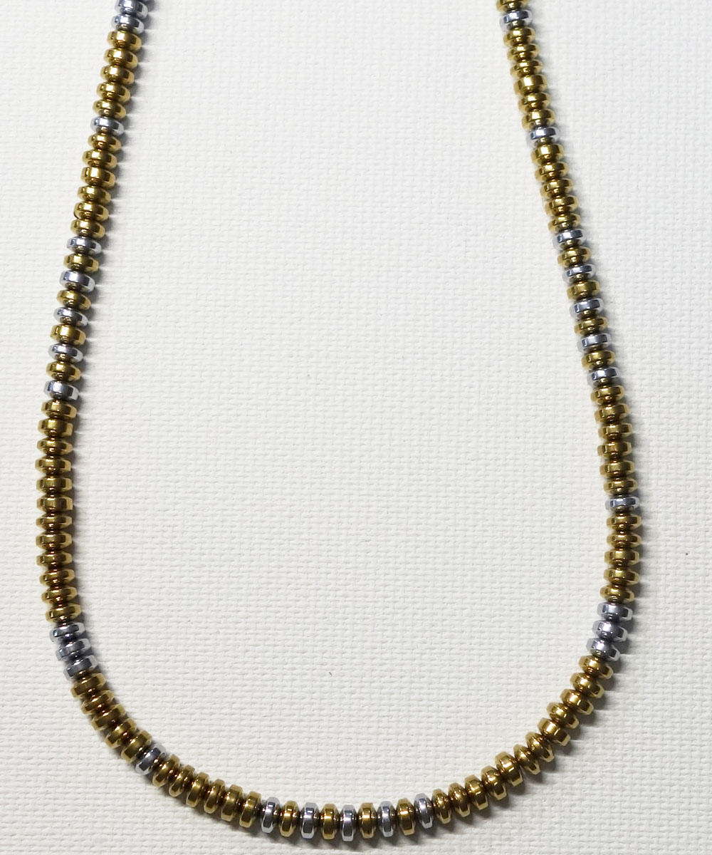 GOLD & SILVER NECKLACE(ゴールド&シルバー ネックレス)5