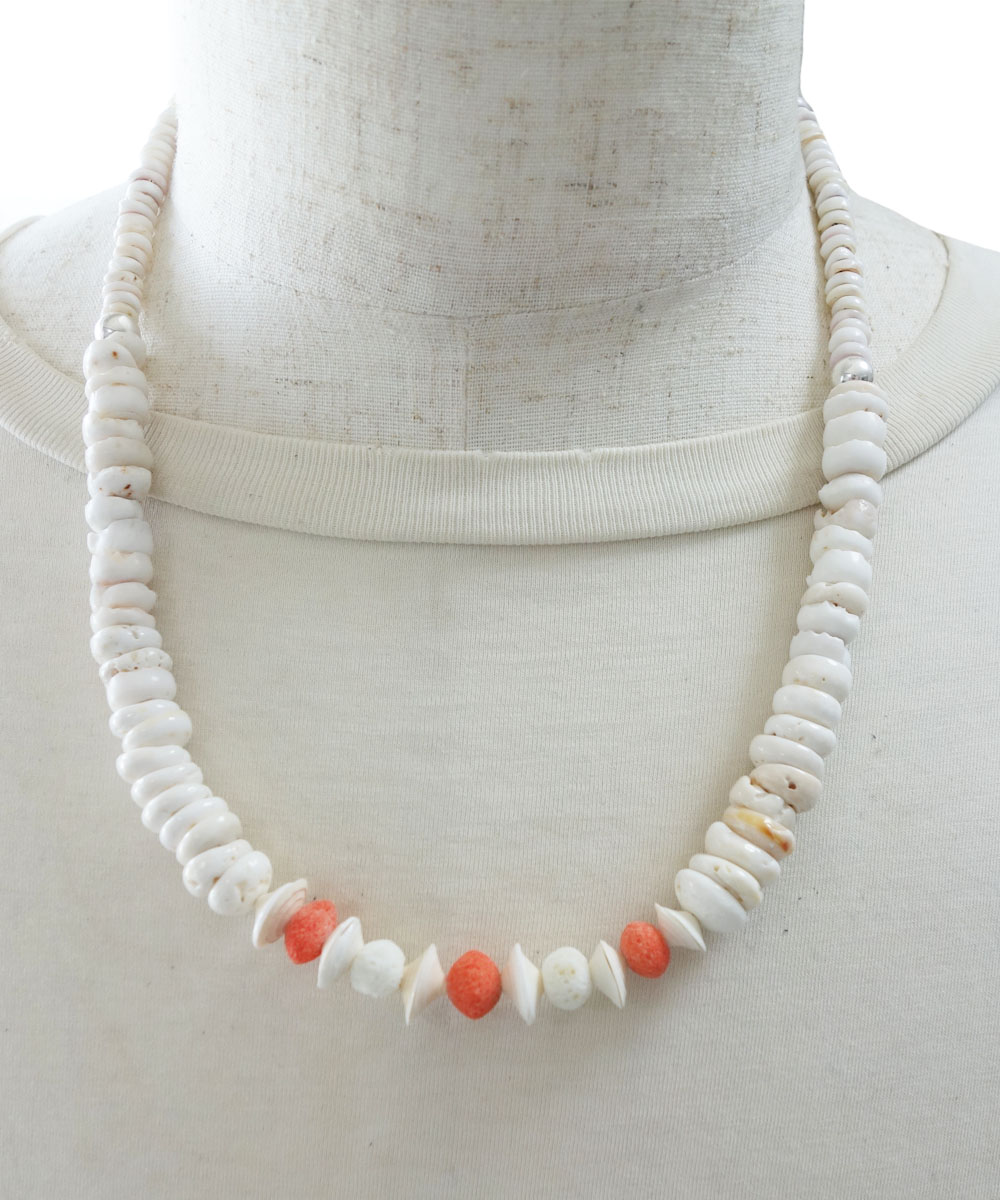 SHELL&CORAL NECKLASE(シェル&コーラルネックレス)