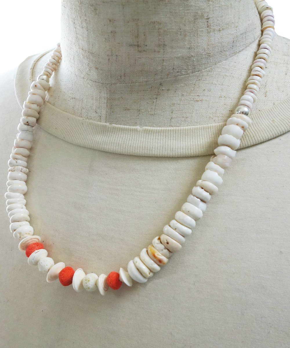SHELL&CORAL NECKLASE(シェル&コーラルネックレス)2
