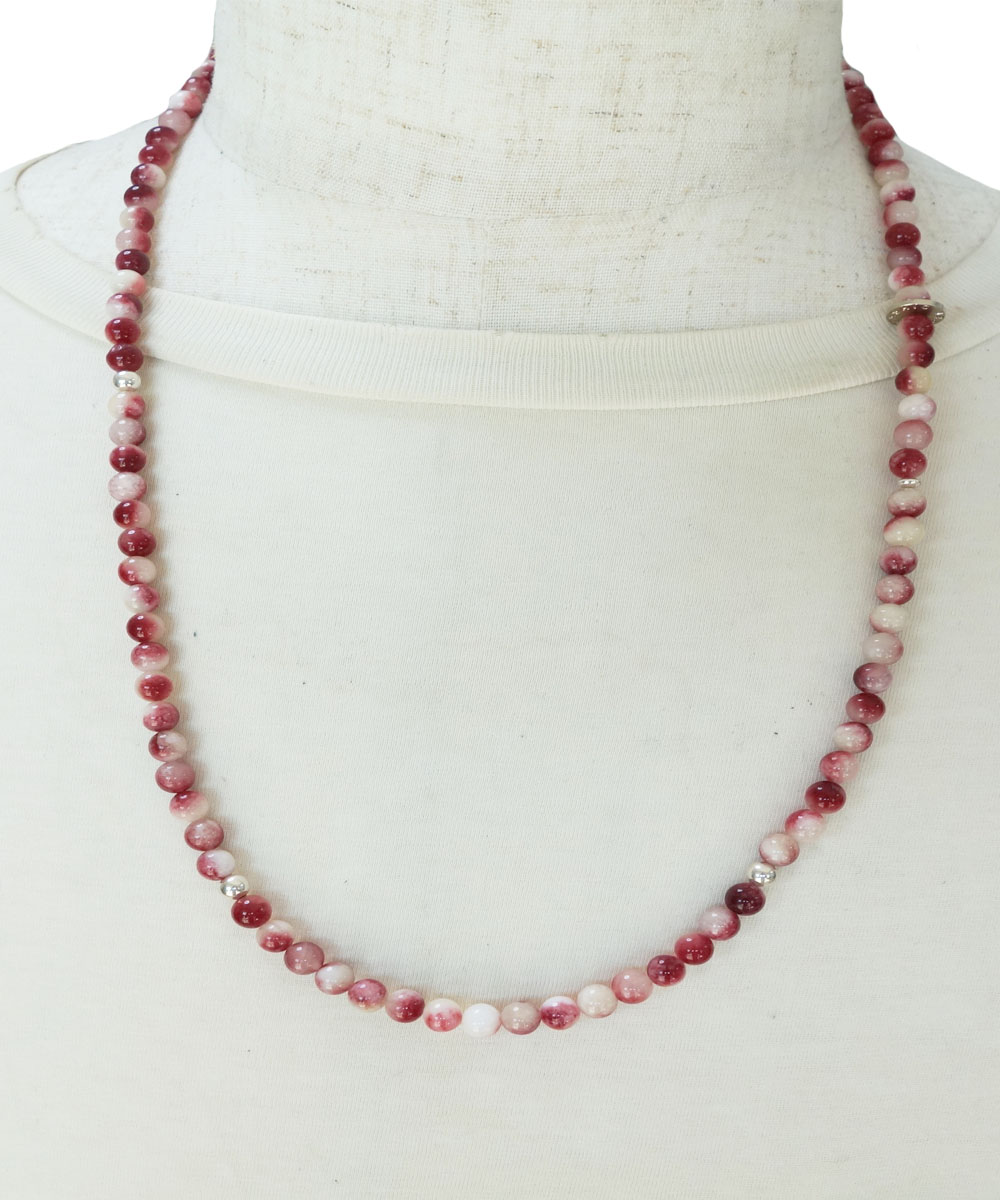 RED&WHITE NECKLACE(レッド&ホワイト ネックレス)