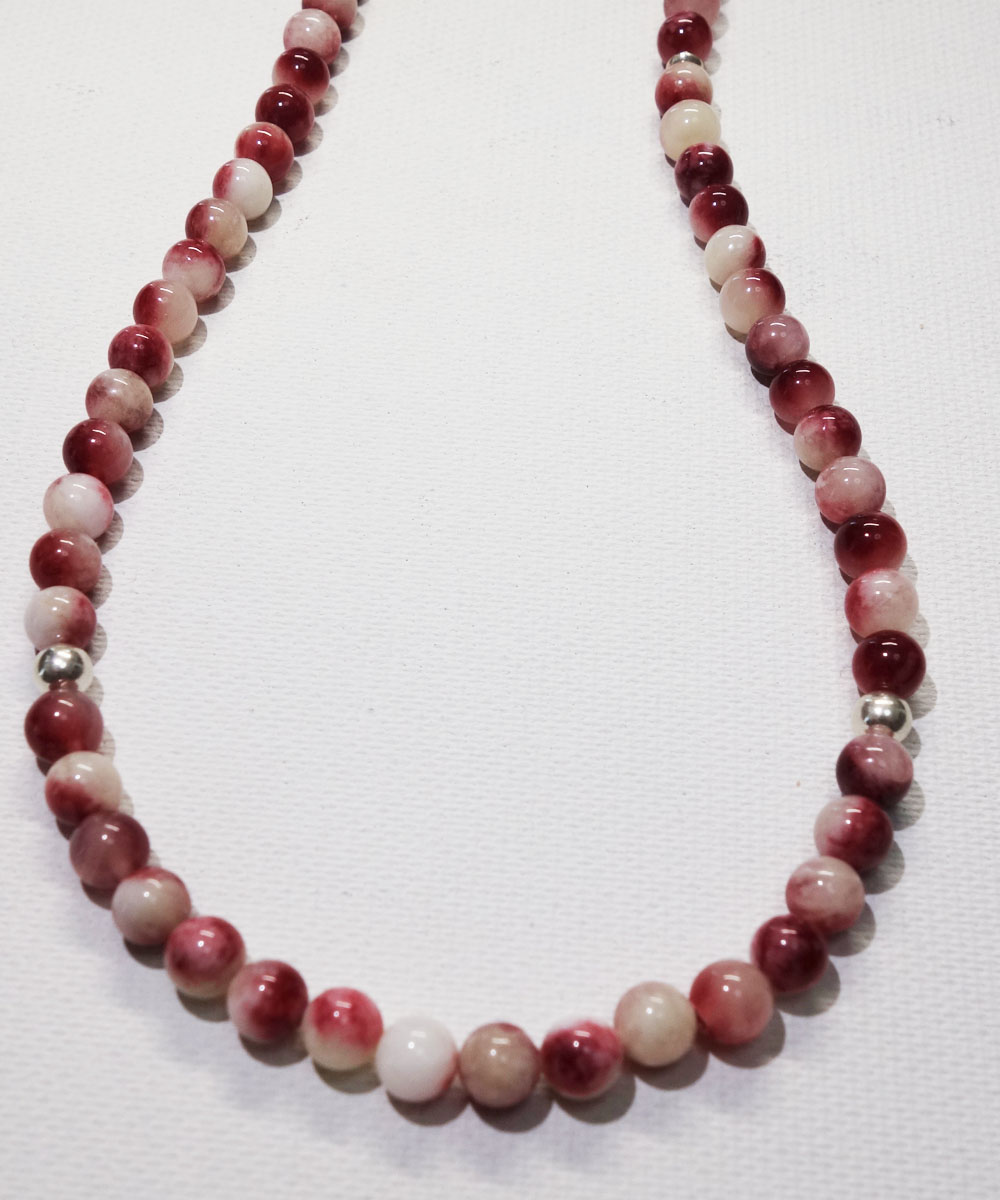 RED&WHITE NECKLACE(レッド&ホワイト ネックレス)5