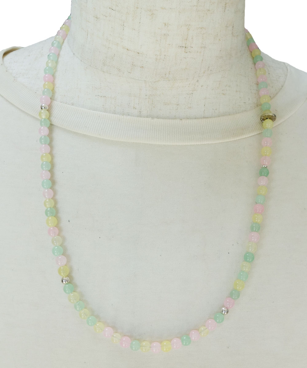 PASTEL COLOR NECKLACE-01( パステルカラーネックレス)