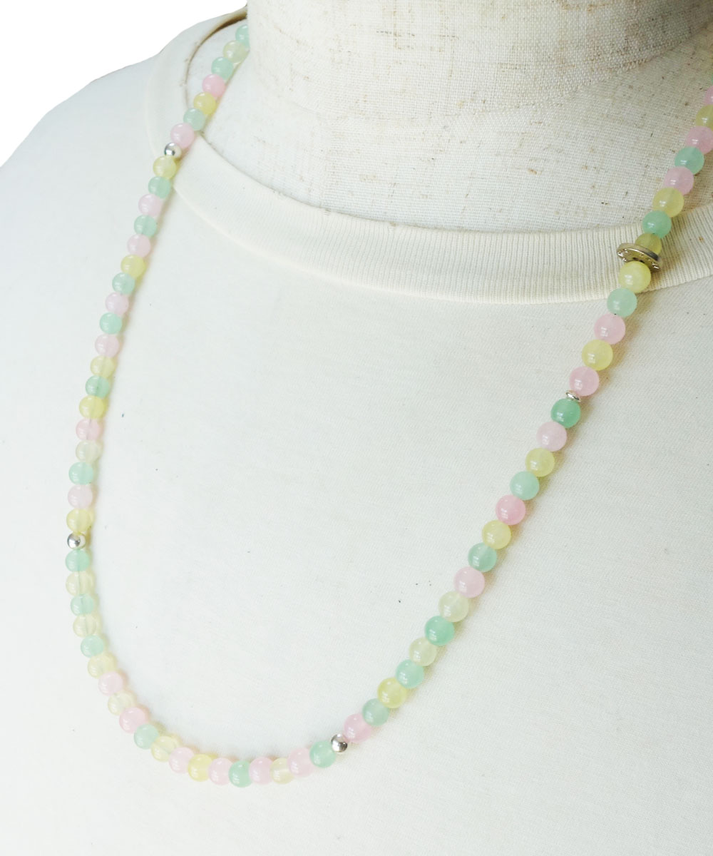PASTEL COLOR NECKLACE-01( パステルカラーネックレス)2
