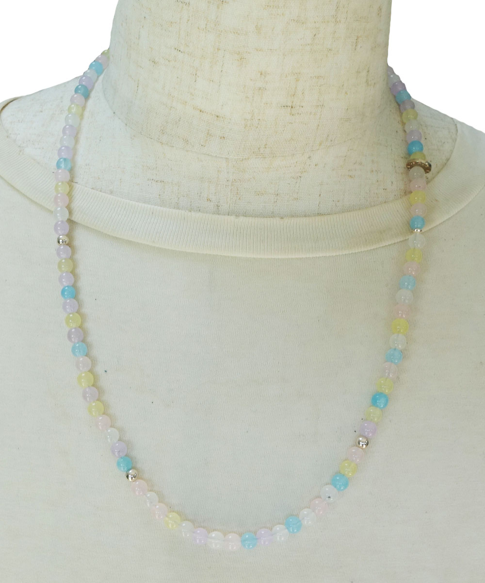 PASTEL COLOR NECKLACE-02( パステルカラーネックレス)