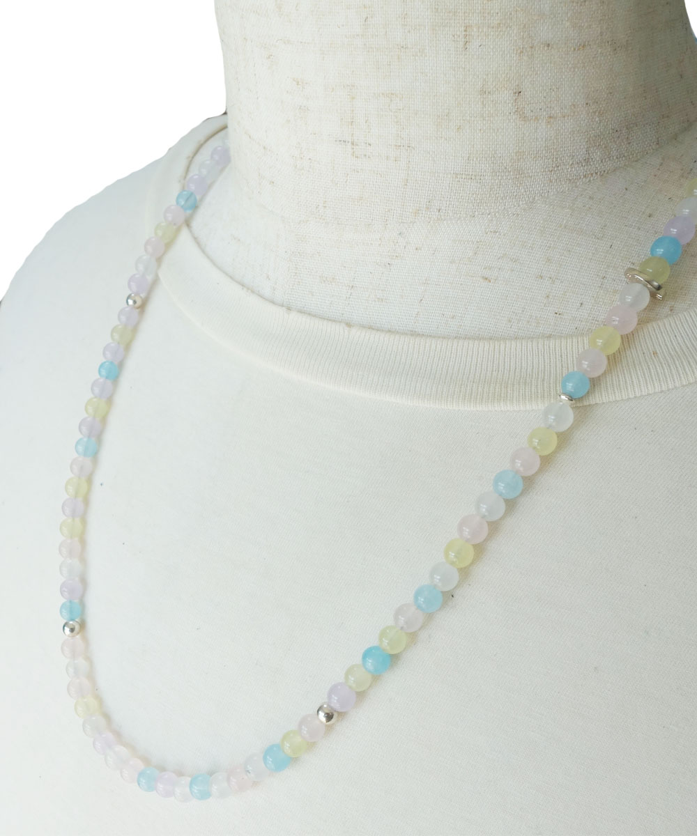 PASTEL COLOR NECKLACE-02( パステルカラーネックレス)2