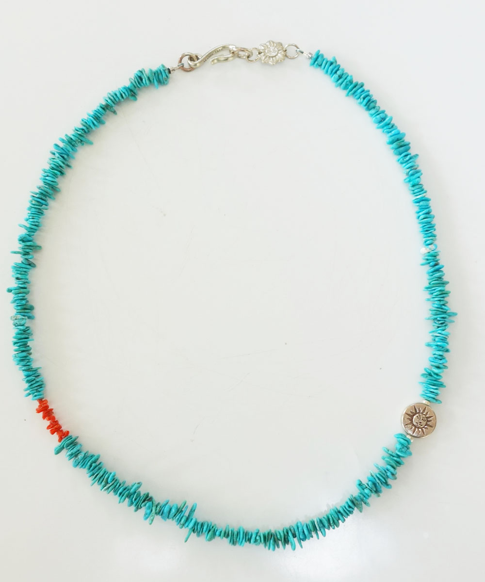 TURQUOISE(ターコイズ)&CORAL  NECKLACE(コーラルネックレス) 3