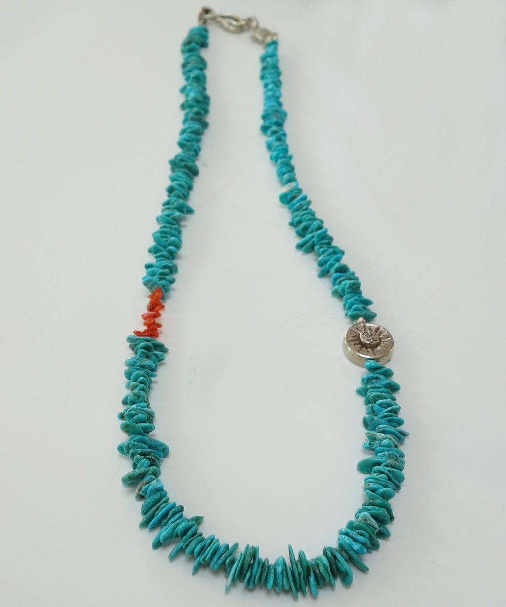 TURQUOISE(ターコイズ)&CORAL  NECKLACE(コーラルネックレス) 4
