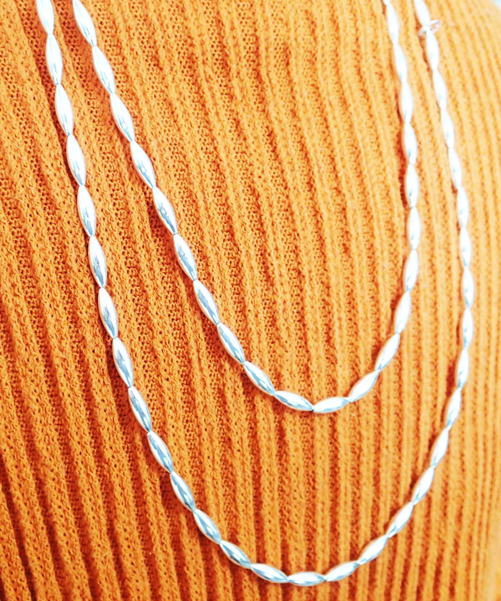 STERLING SILVER PIPE LONG NECKLACE (シルバー925 パイプロングネックレス)7