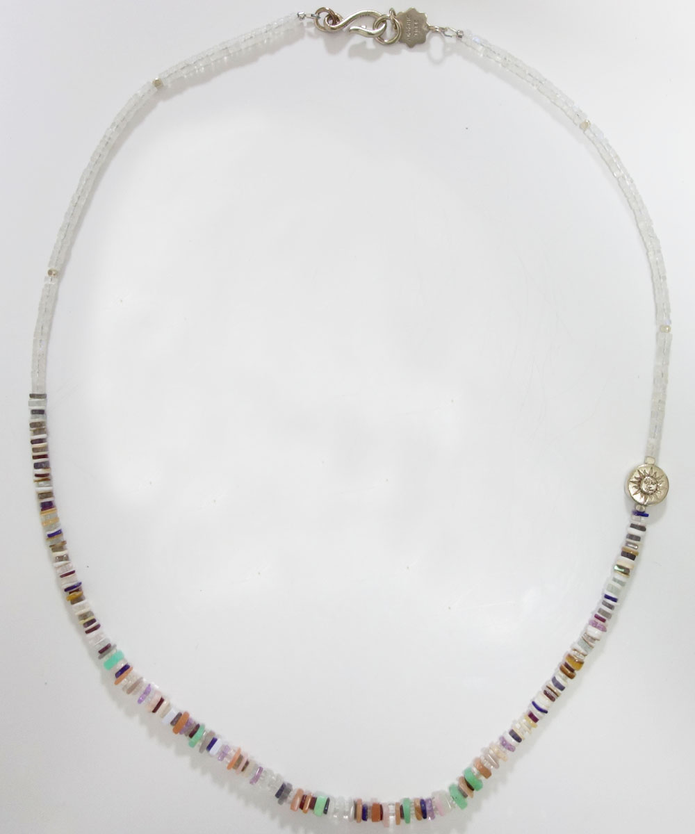 NATURALSTONE&MOON STONE  NECKLACE(ナチュラルストーン&ムーンストーンネックレス) 2