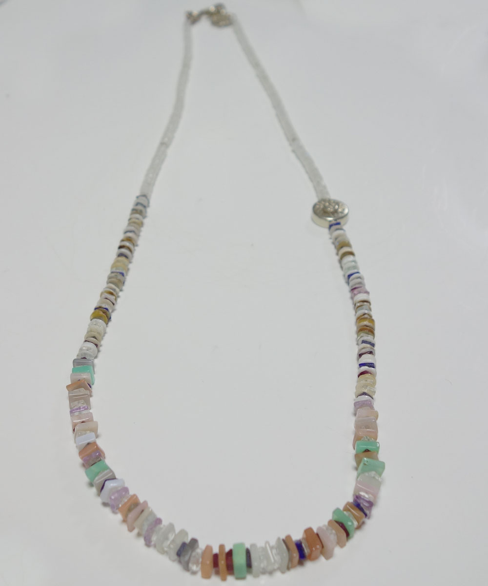 NATURALSTONE&MOON STONE  NECKLACE(ナチュラルストーン&ムーンストーンネックレス) 3