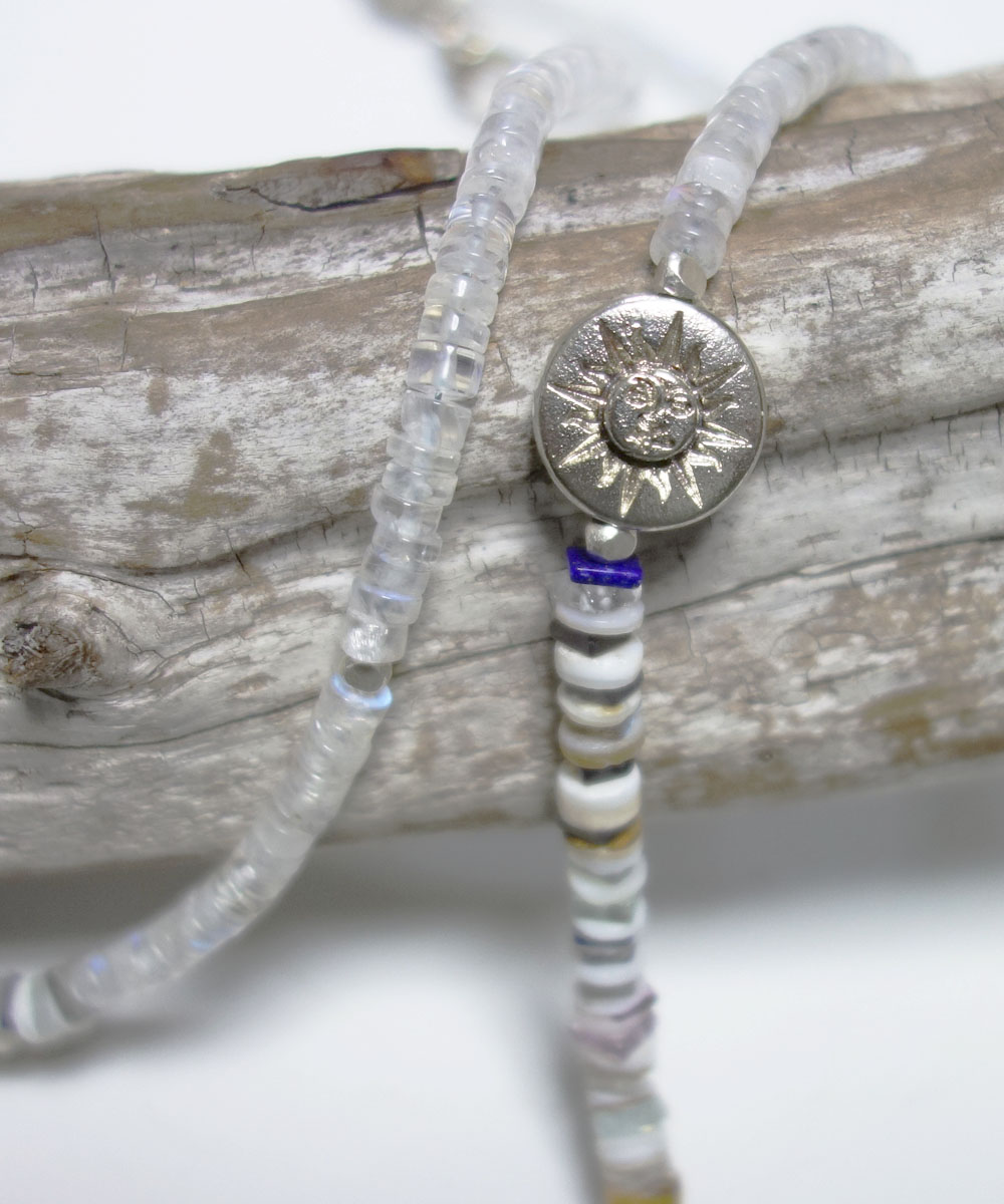 NATURALSTONE&MOON STONE  NECKLACE(ナチュラルストーン&ムーンストーンネックレス) 4