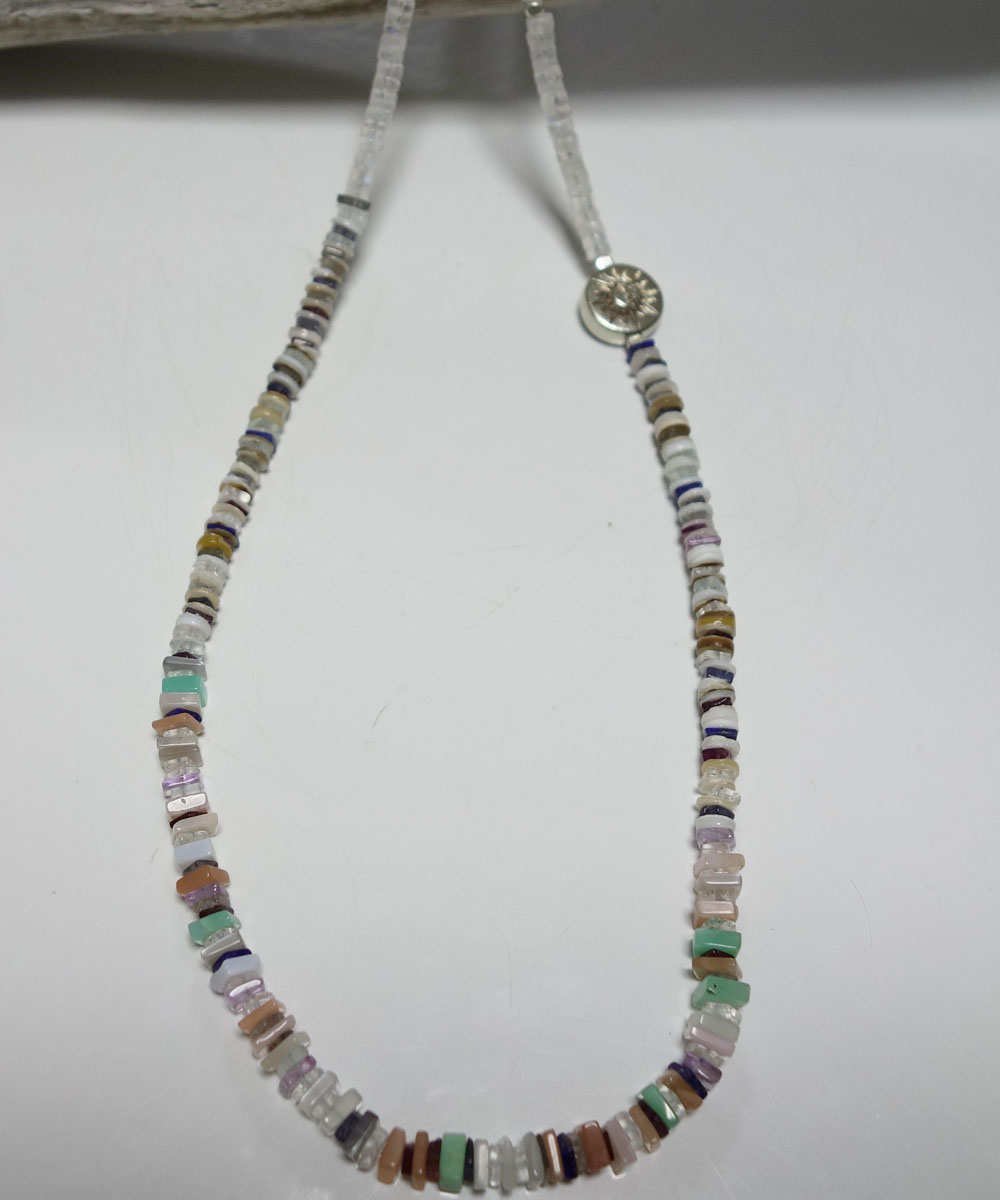 NATURALSTONE&MOON STONE  NECKLACE(ナチュラルストーン&ムーンストーンネックレス) 6
