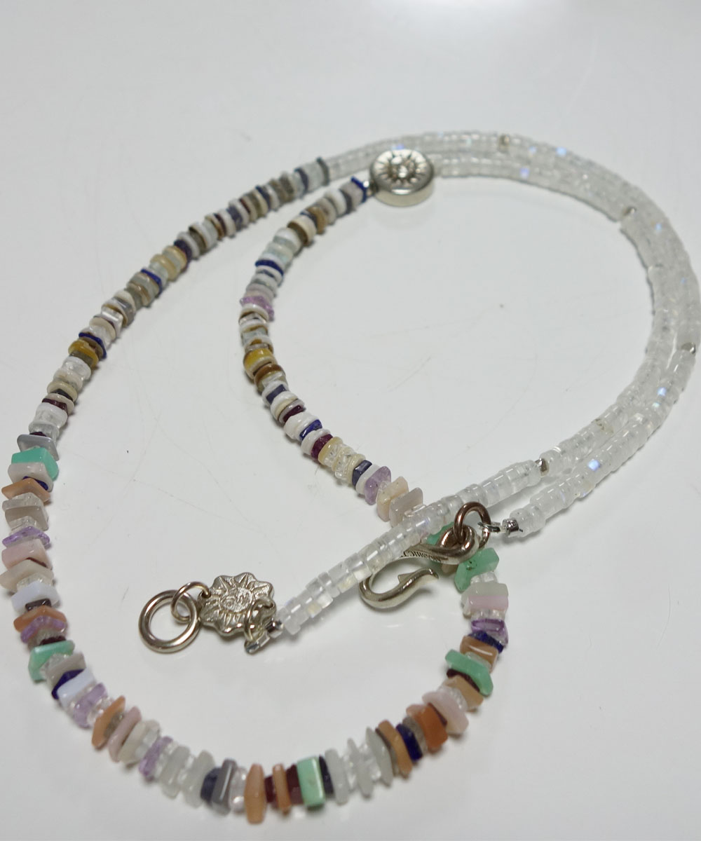 NATURALSTONE&MOON STONE  NECKLACE(ナチュラルストーン&ムーンストーンネックレス) 7