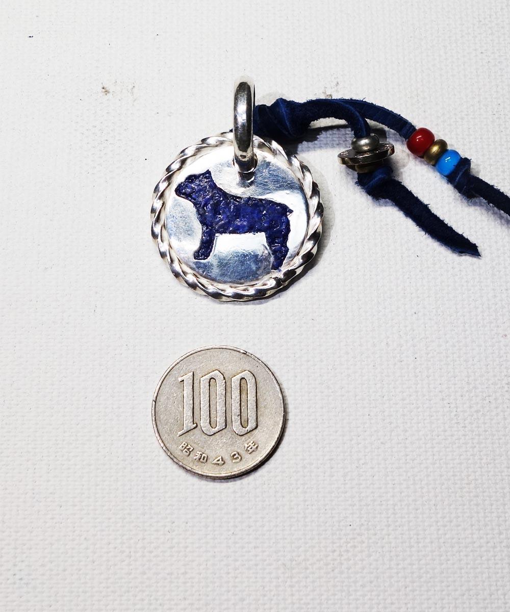 SV1000 FRENCH BULLDOG ID TAG(純銀製フレンチブルドッグ ネーミングタグ)2