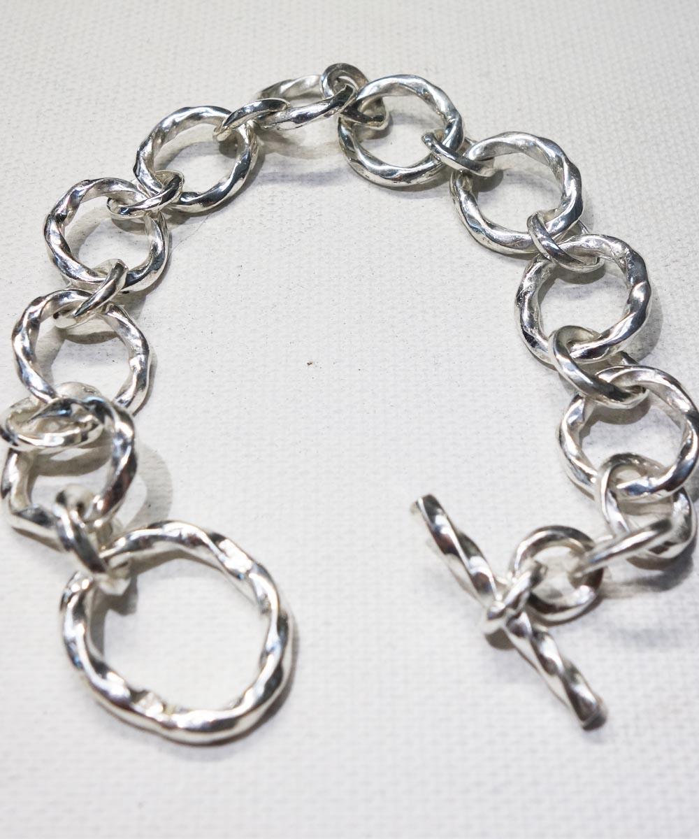 SILVER1000  SILVER CHAIN BRACELET(純銀製  シルバーチェーンブレスレット)8