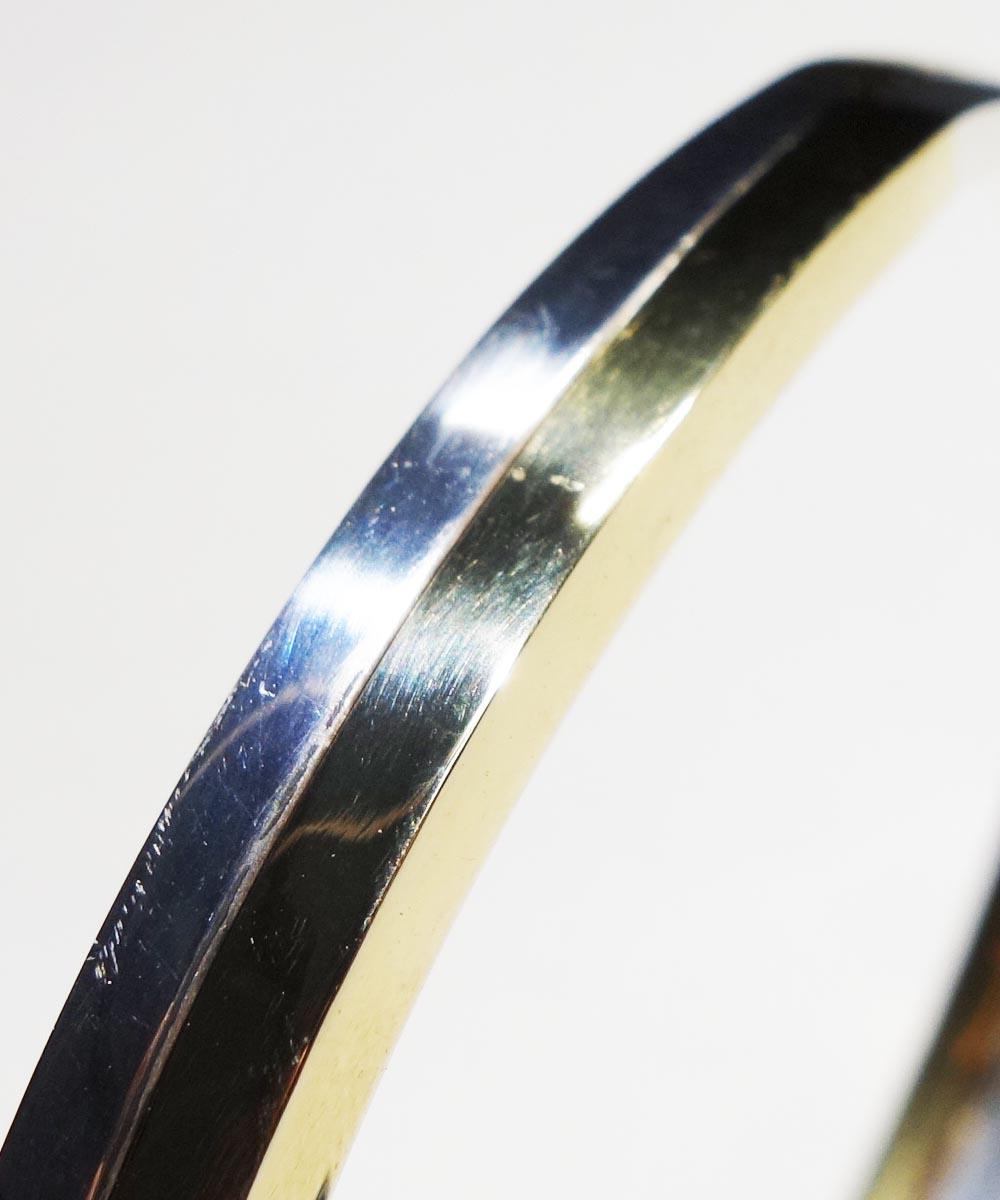 SILVER1000&BRASS DOUBLE BRACELET (純銀&真鍮ブレスレット) 7