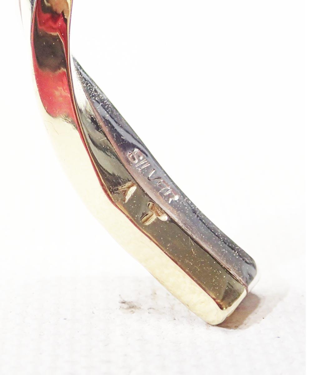 SV1000&BRASS TWIST BRACELET(純銀&真鍮ツイストブレスレット)10
