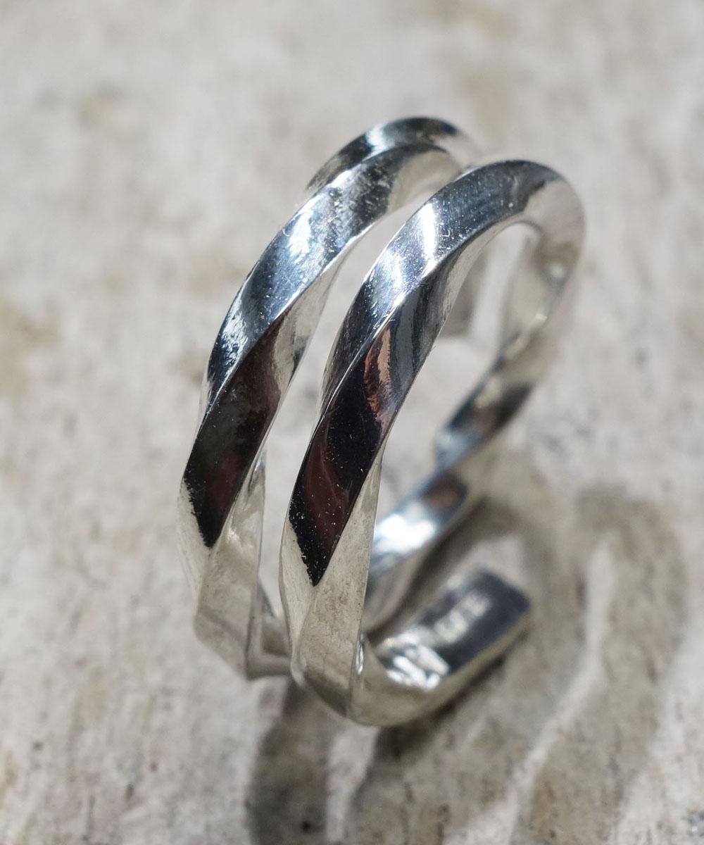SILVER1000 TWIST RING(シルバー1000ツイストリング)