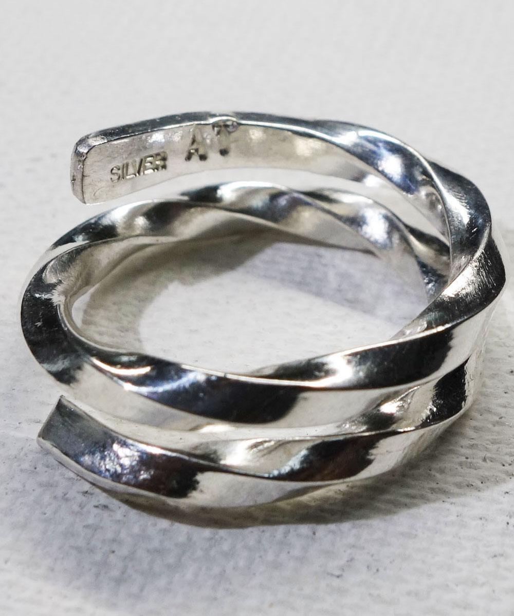 SILVER1000 TWIST RING(シルバー1000ツイストリング)3
