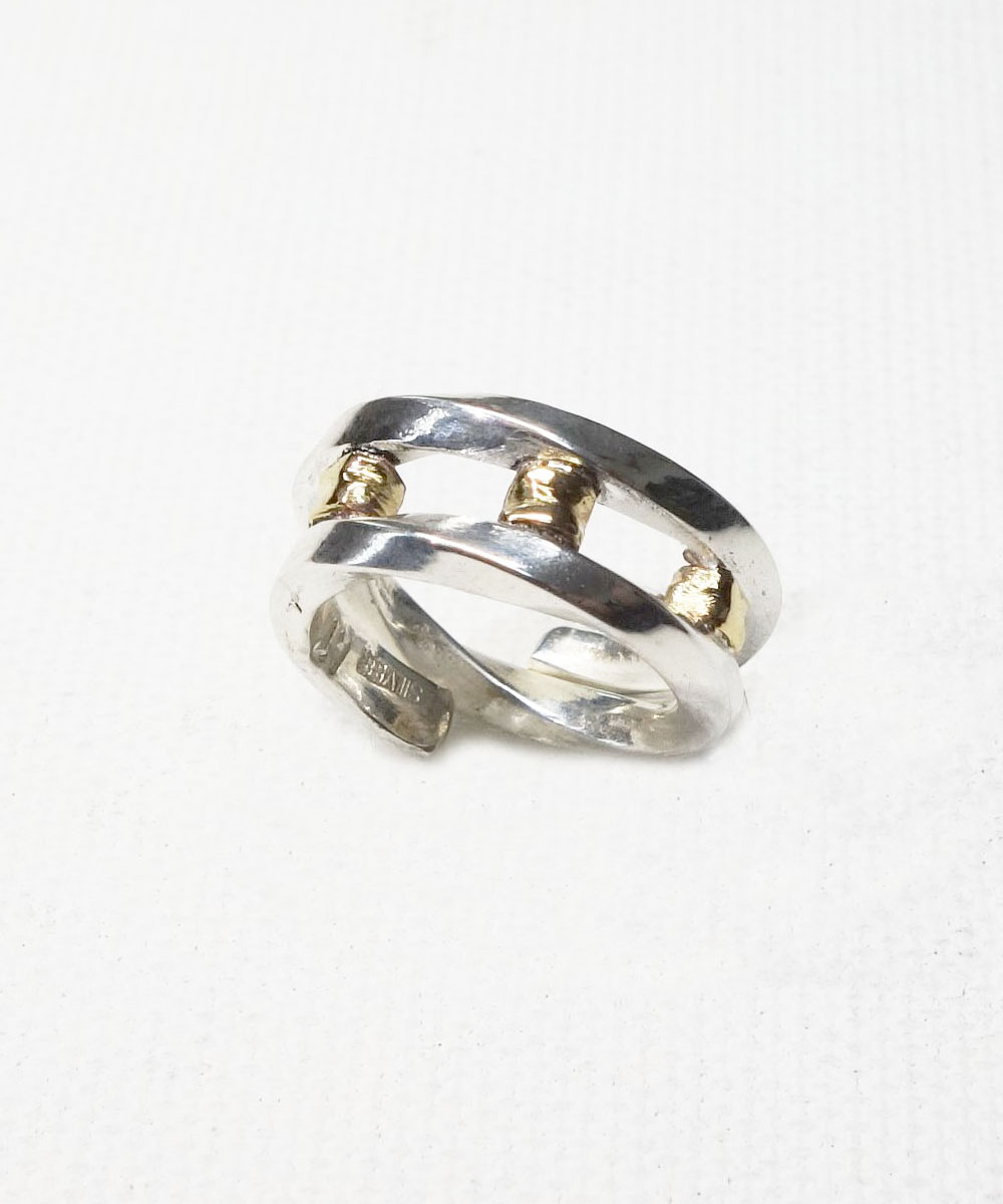 SILVER&GOLD TWIST RING (シルバー&ゴールドツイストリング)