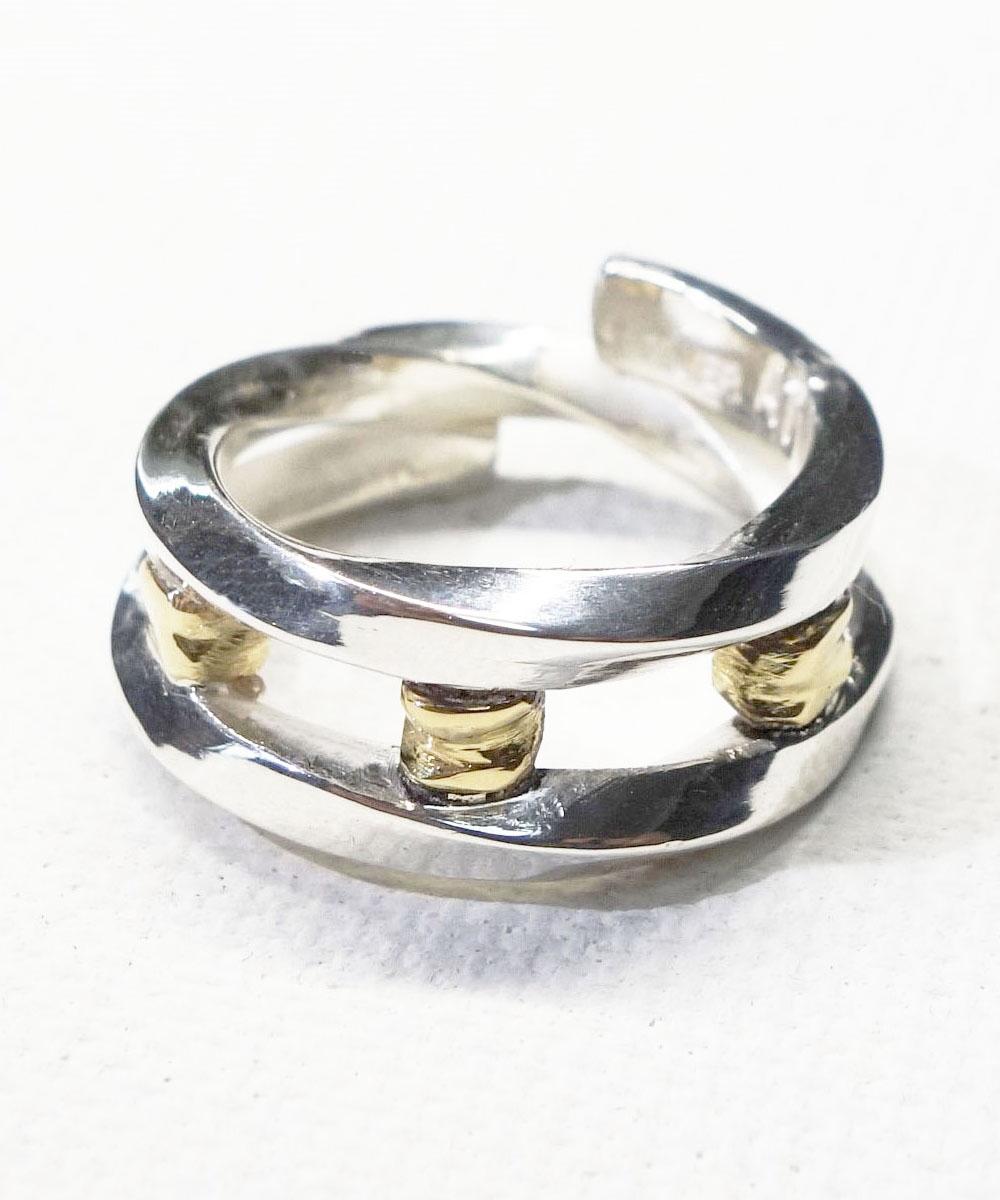 SILVER&GOLD TWIST RING (シルバー&ゴールドツイストリング)3