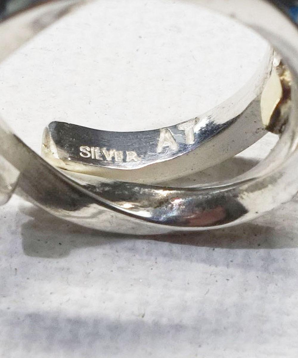 SILVER&GOLD TWIST RING (シルバー&ゴールドツイストリング)4
