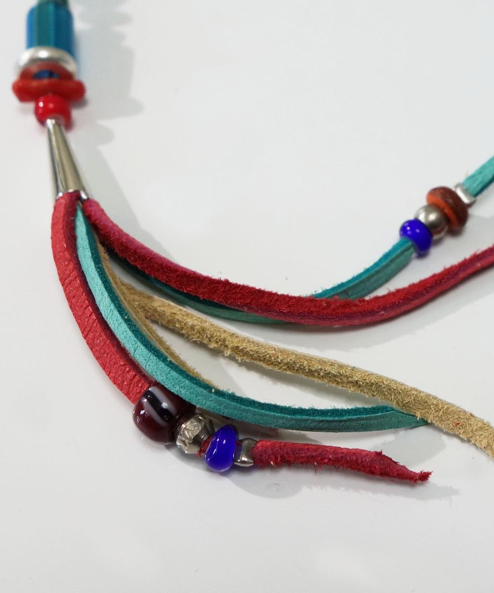 MALTI COLOR KEY RING(マルチカラーキーリング カラー:ターコイズ) 5