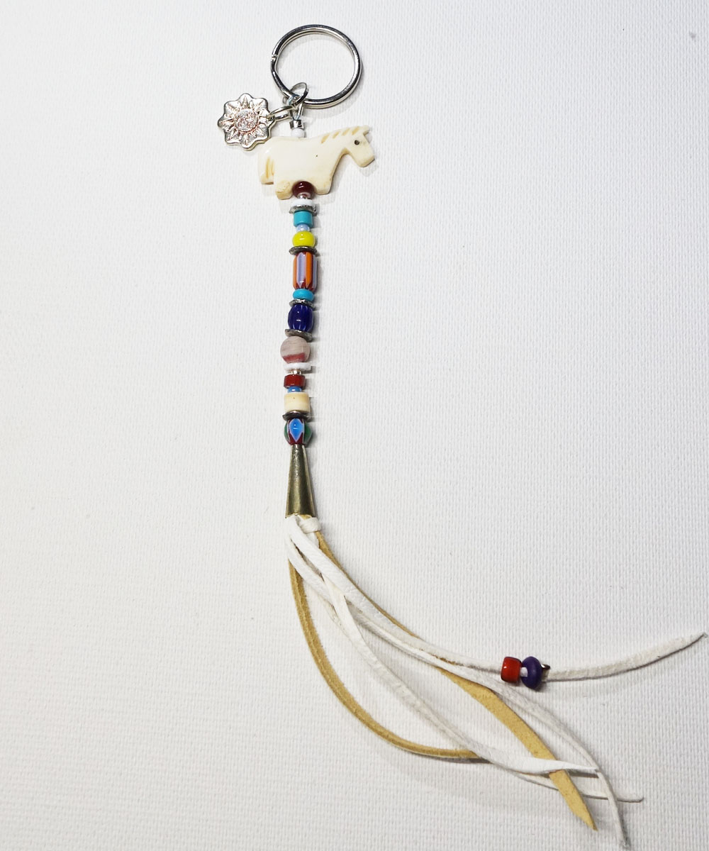 MALTI COLOR KEY RING (マルチカラーキーリング トップ フェティシュ) Top-FETISH(HORSE)