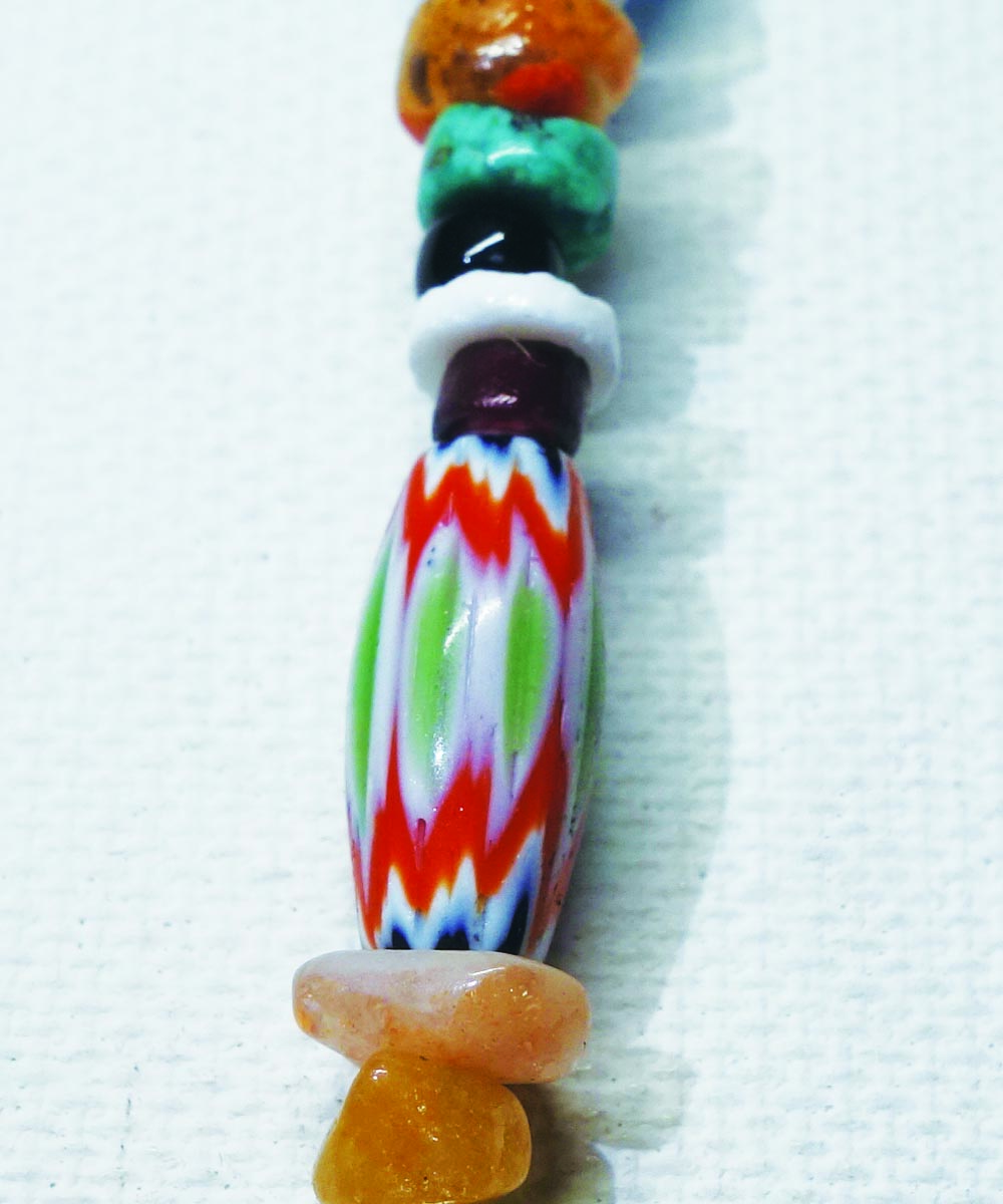 MULTI COLOR KEY RING Top-Natural Stone(TURQUOISE) (マルチカラーキーリング)3