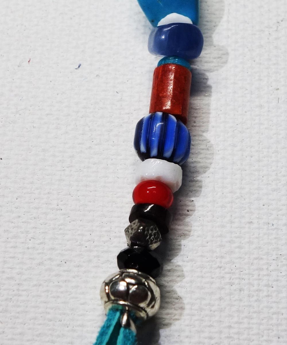 MULTI COLOR KEY RING(マルチカラーキーリング) Top-Natural Stone(TURQUOISE)3