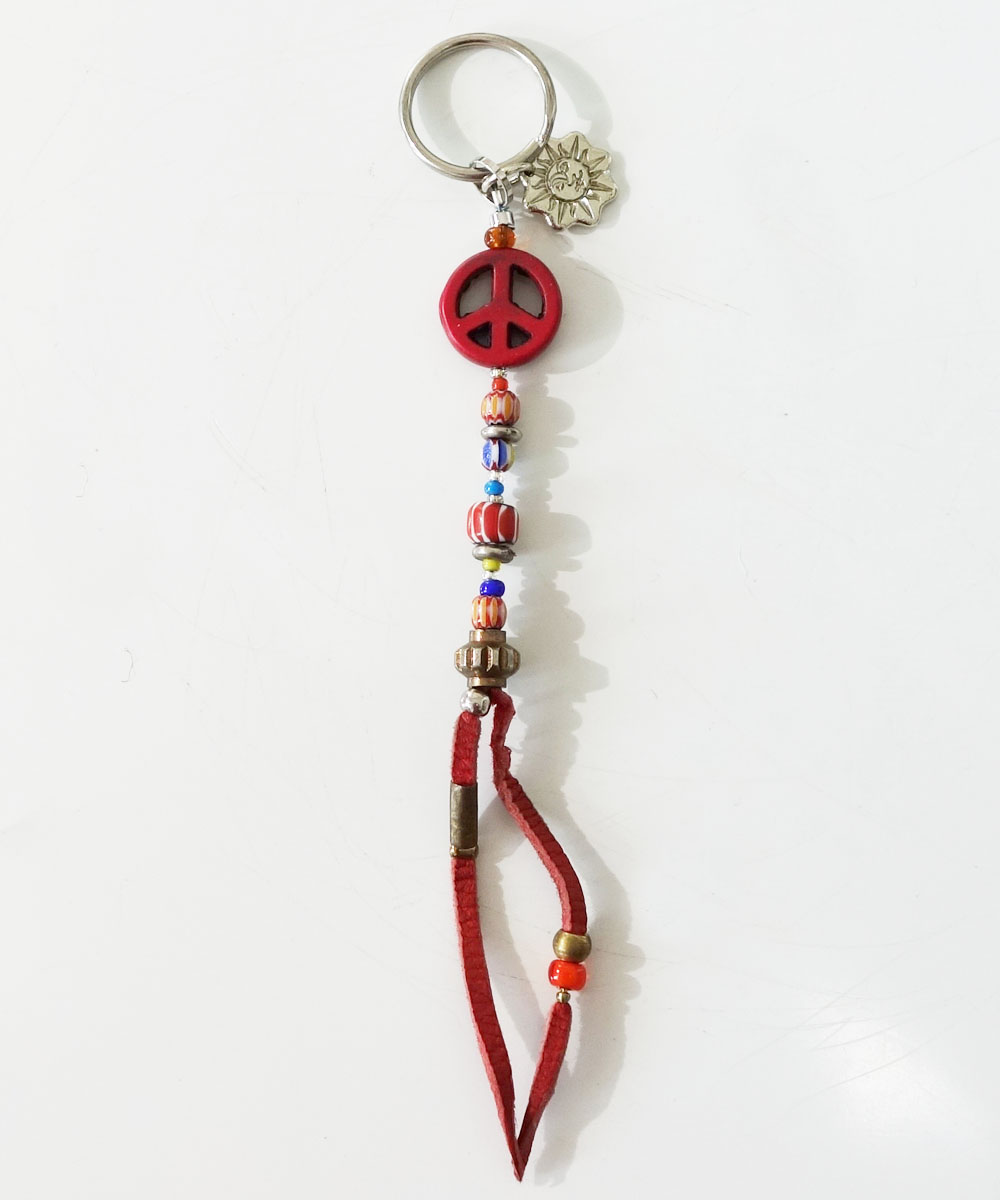 MALTI COLOR KEY RING(マルチカラーキーリング) Top-PEACEMARK 1