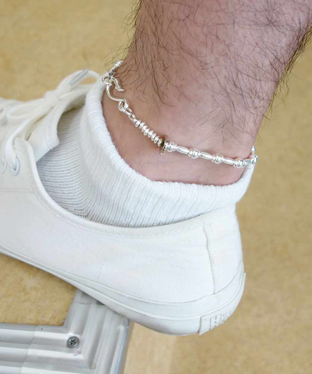 STERLING SILVER WIRE ANKLET(スターリングシルバーワイヤーアンクレット)5